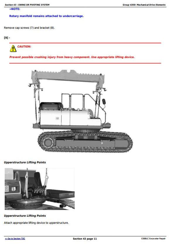 TM13105X19 - John Deere E300LC (T2/S2) Excavator Service Repair Technical Manual - 3