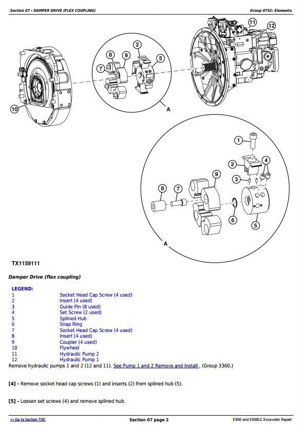 TM13113X19 - John Deere E360 and E360LC Excavator Service Repair Manual - 1