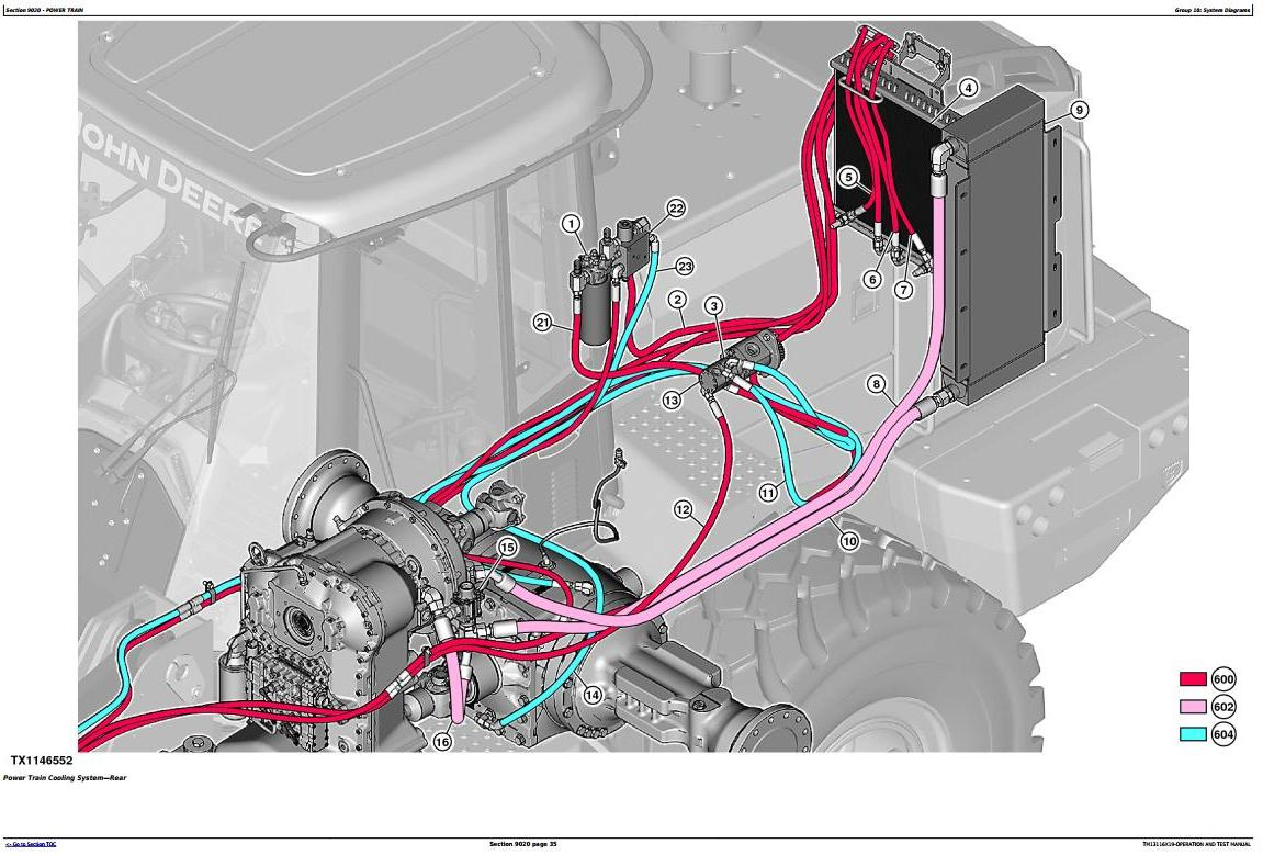 TM13116X19 - John Deere 644K 4WD Loader (SN. from C658218, D658218) Diagnostic & Test Service Manual - 3