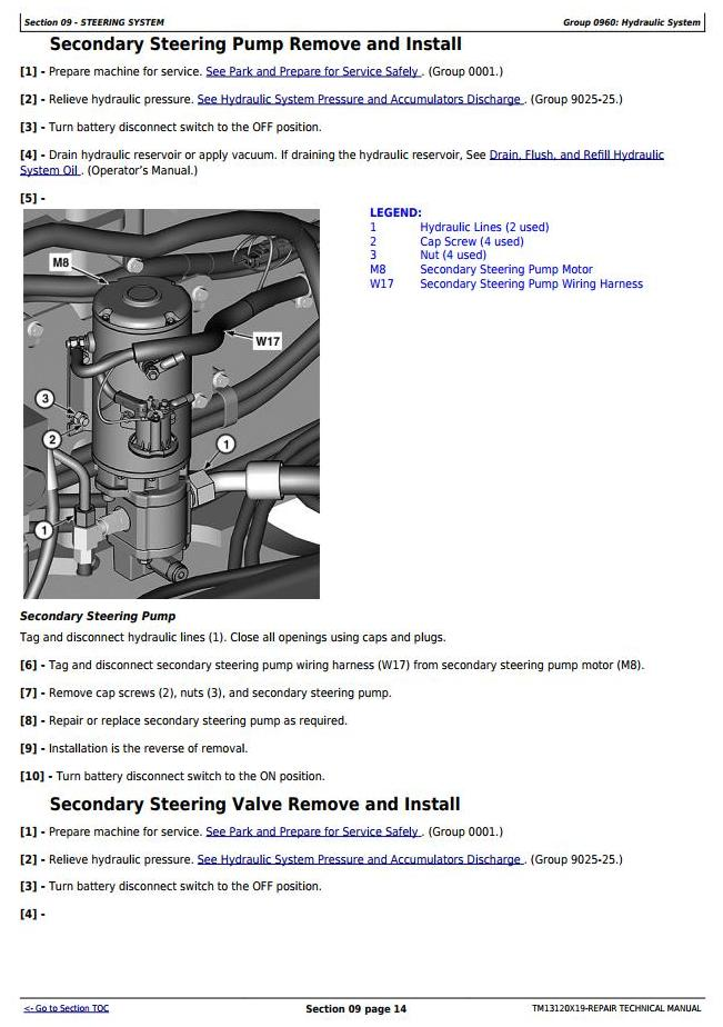 TM13120X19 - John Deere 724K 4WD Loader (SN. from C658297, D658297) Service Repair Technical Manual - 2