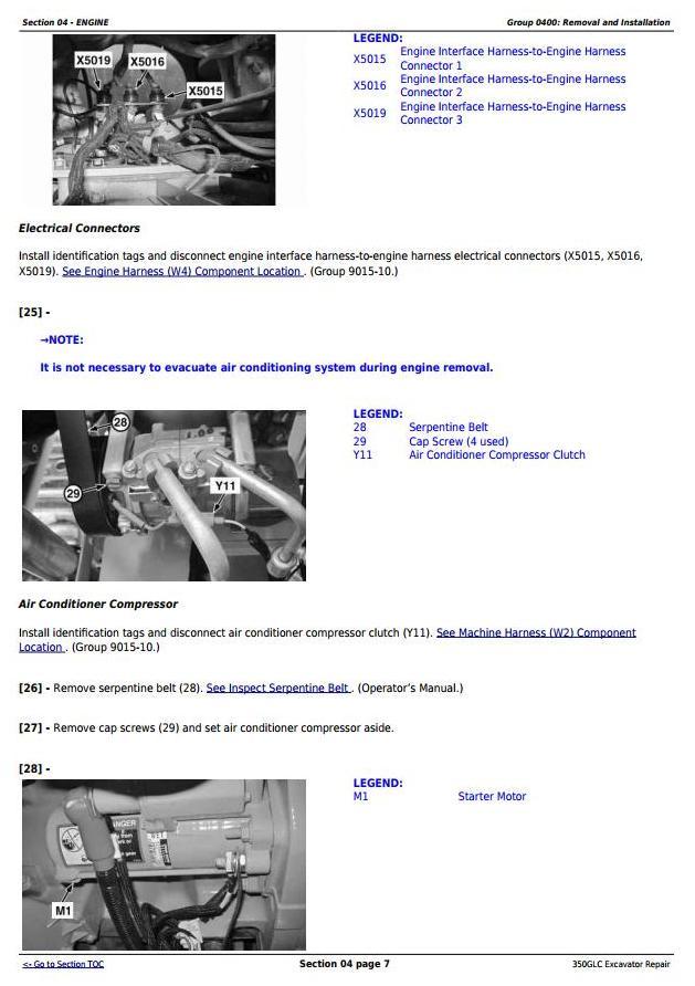 TM13207X19 - John Deere 350GLC (PIN: 1FF350GX__F809192-) Excavator Service Repair Technical Manual - 1