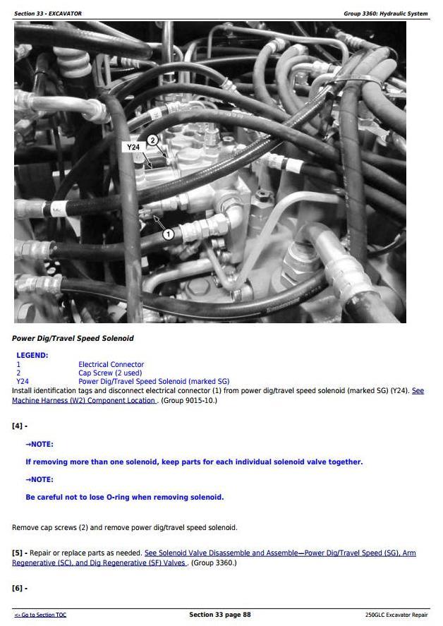 TM13209X19 - John Deere 250GLC (PIN: 1FF250GX__F608713-) Excavator Service Repair Technical Manual - 3