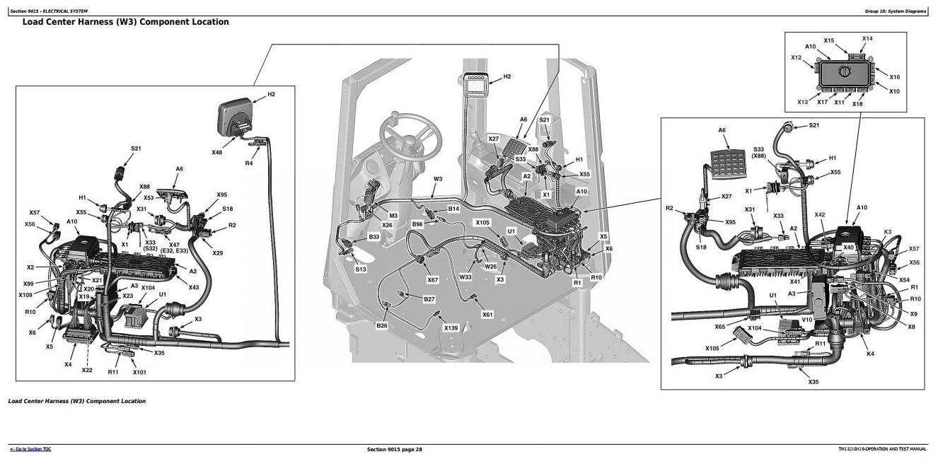TM13210X19 - John Deere 624K 4WD Loader (SN.000001-001000) Diagnostic, Operation&Test Service Manual - 1
