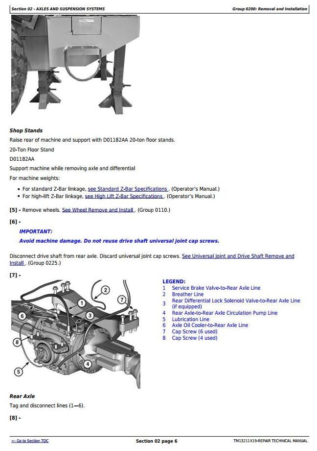 TM13211X19 - John Deere 624K (T2/S2) 4WD Loader (SN.000001-001000) Service Repair Technical Manual - 1