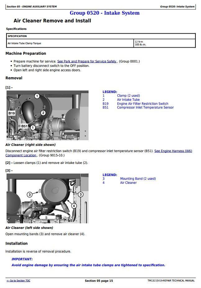 TM13215X19 - John Deere 724K 4WD Loader (SN.from C000001;D000001) Service Repair Technical Manual - 2