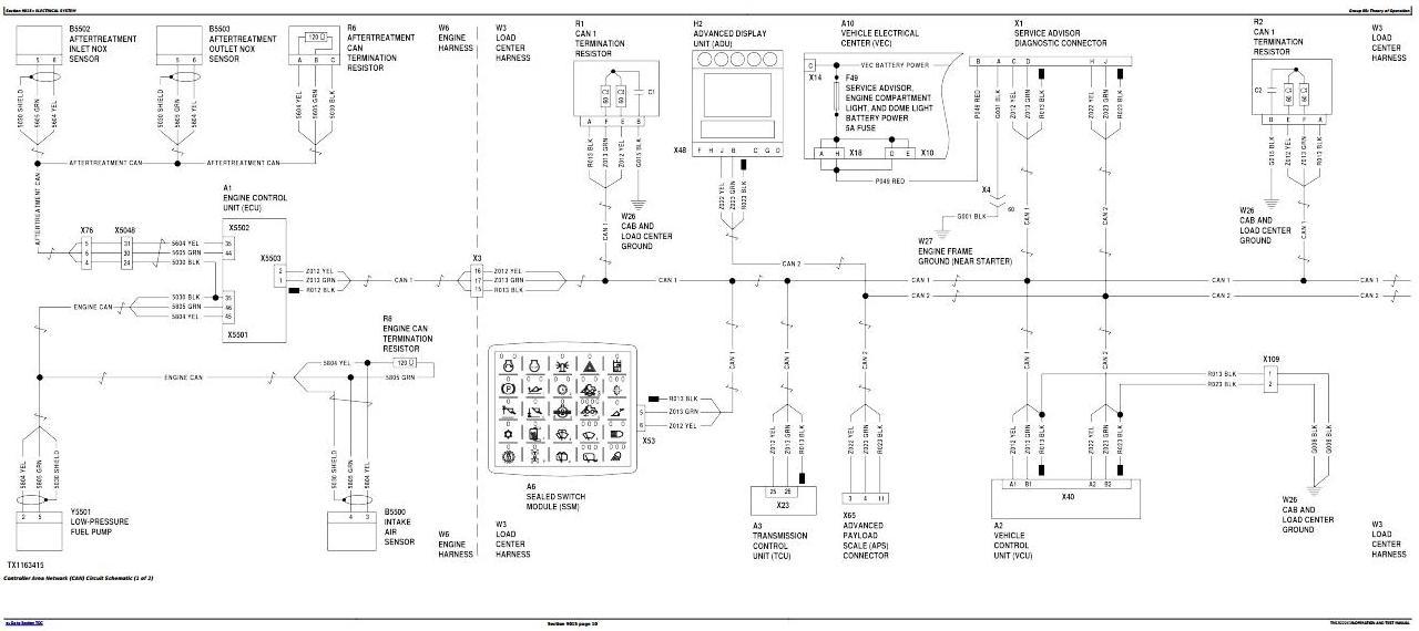 TM13222X19 - John Deere 844K Series II 4WD Loader (SN.from F664098) Diagnostic & Test Service Manual - 1