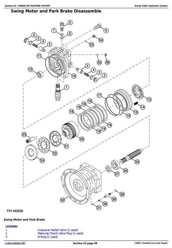 TM13250X19 - John Deere 230GW Wheeled Excavator Service Repair Manual - 3