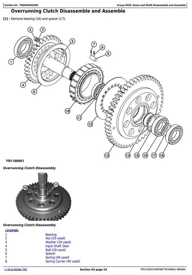 TM13256X19 - John Deere WL53 4WD Loader (SN. D100008—100079) Service Repair Technical Manual - 2