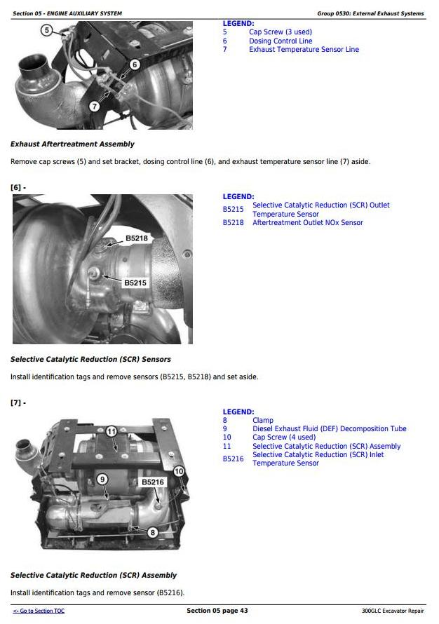 TM13264X19 - John Deere 300GLC Excavator Service Repair Technical Manual - 1