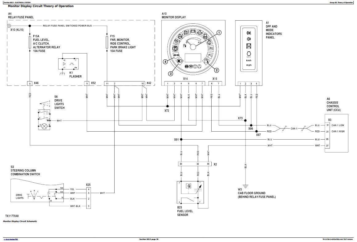 TM13278X19 - John Deere 244K, 244K-II, 324K Compact Loader Diagnostic, Operation&Test Service Manual - 1