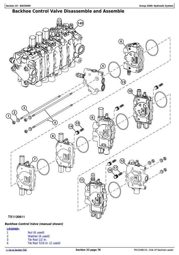 TM13290X19 - John Deere 310L EP Backhoe Loader (S.N.273920-329327) Service Repair Technical Manual - 3