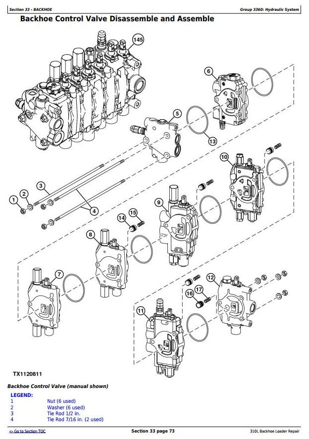 TM13292X19 - John Deere 310L Backhoe Loader (SN. from 273920) Service Repair Technical Manual - 3