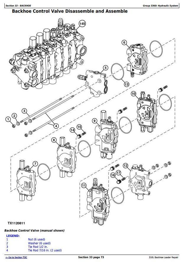 TM13292X19 - John Deere 310L Backhoe Loader (SN. from 273920) Service Repair Technical Manual - 3