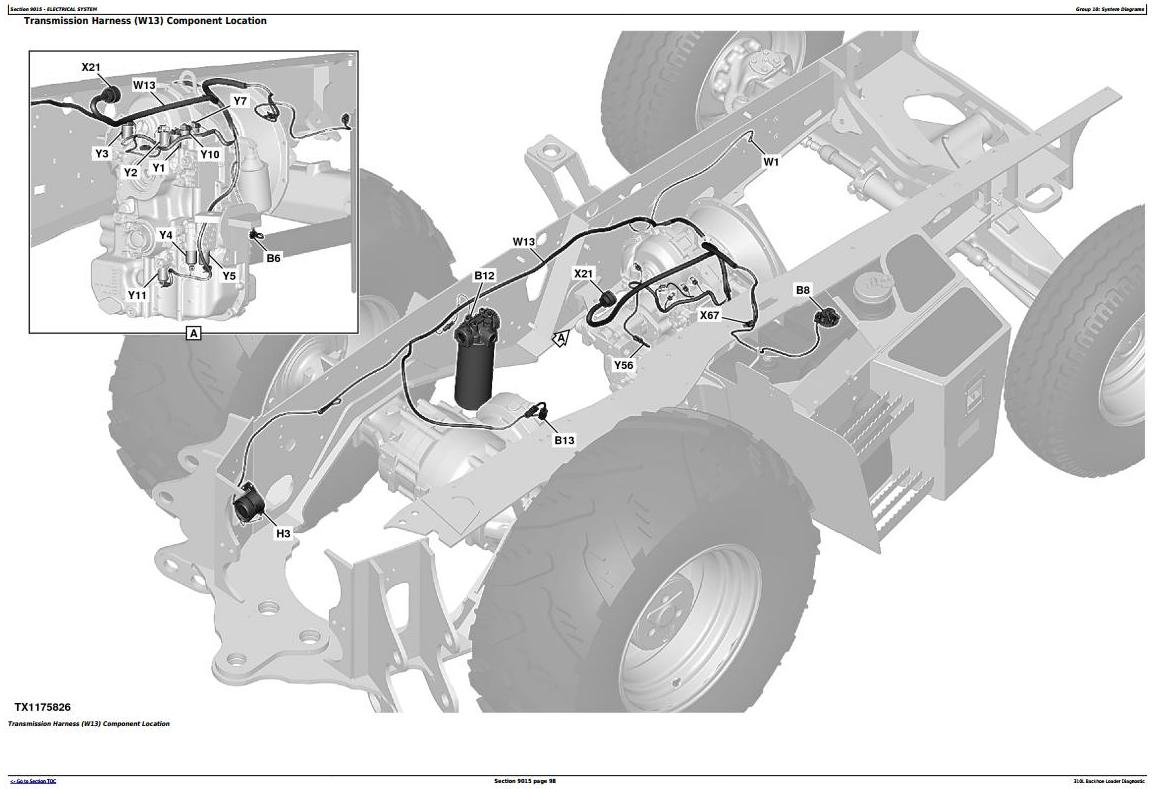 TM13293X19 - John Deere 310L Backhoe Loader (SN: F273920-) Diagnostic, Operation&Test Service Manual - 3