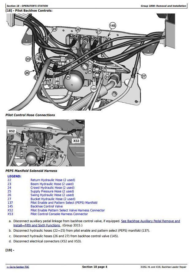 TM13300X19 - John Deere 310SL HL, 410L Backhoe Loader (SN.273920-) Service Repair Technical Manual - 2