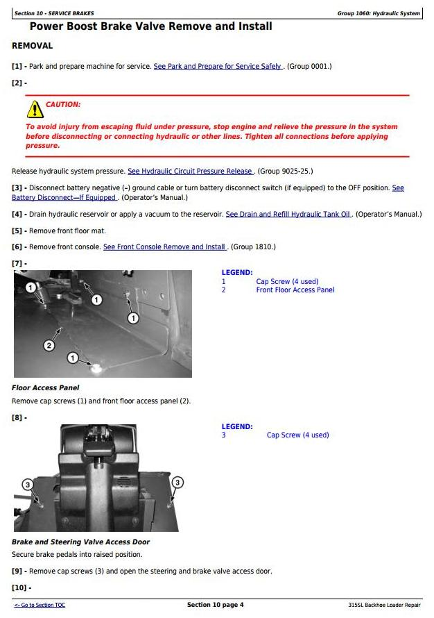 TM13302X19 - John Deere 315SL Backhoe Loader (SN from 273920) Service Repair Technical Manual - 2
