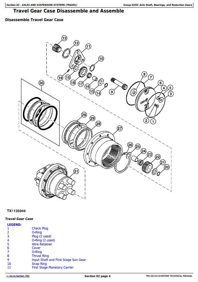 TM13324X19 - John Deere 26G (SN. from K260001) Compact Excavator Service Repair Technical Manual - 1