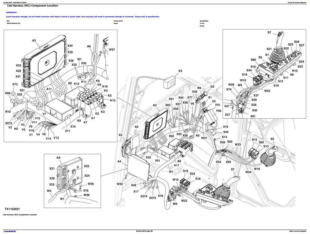 TM13345X19 - John Deere 160GLC (PIN: 1FF160GX__F055671-) Excavator Diagnostic, Operation and Test manual - 2