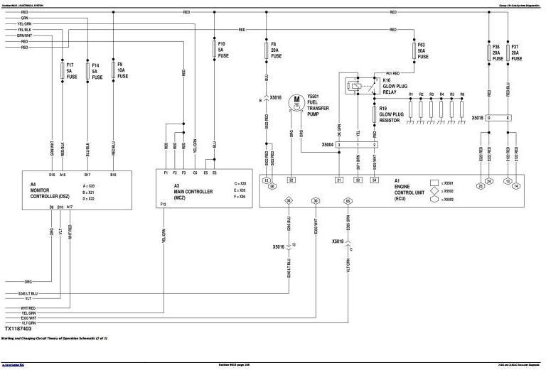 TM13347X19 - John Deere 210G, 210GLC (PIN: 1FF210GX__F521988-) Excavator Diagnostic and Test Manual - 2
