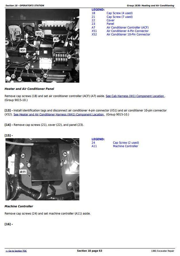 TM13348X19 - John Deere 130G (S.N: 1FF130GX_F040608) Excavator Service Repair Manual - 1