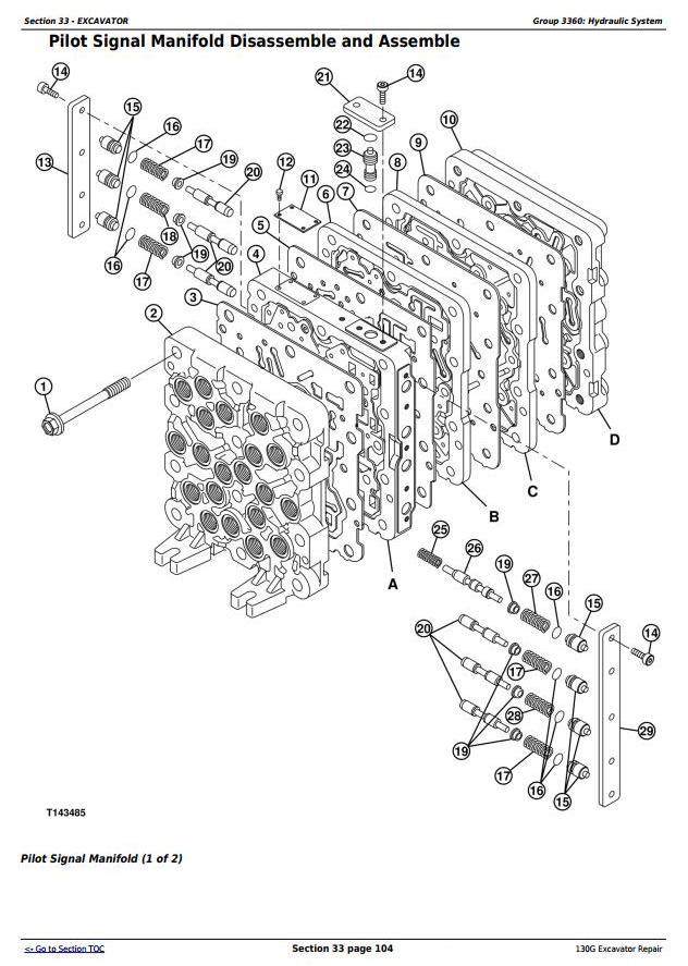 TM13348X19 - John Deere 130G (S.N: 1FF130GX_F040608) Excavator Service Repair Manual - 3