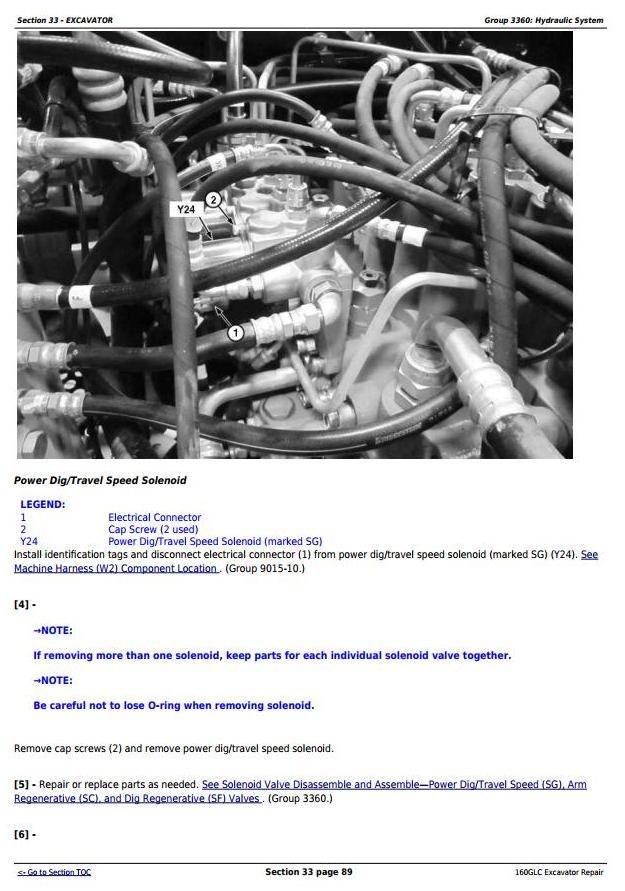 TM13349X19 - John Deere 160GLC (PIN: 1FF160GX__F055671-) Excavator Service Repair Technical Manual - 3