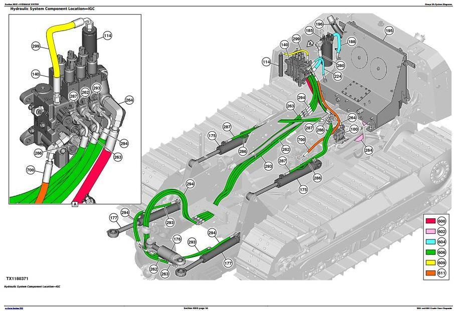 TM13356X19 - John Deere 550K, 650K Crawler Dozer (S.N.from 275977) Diagnostic and Test Service Manual - 1