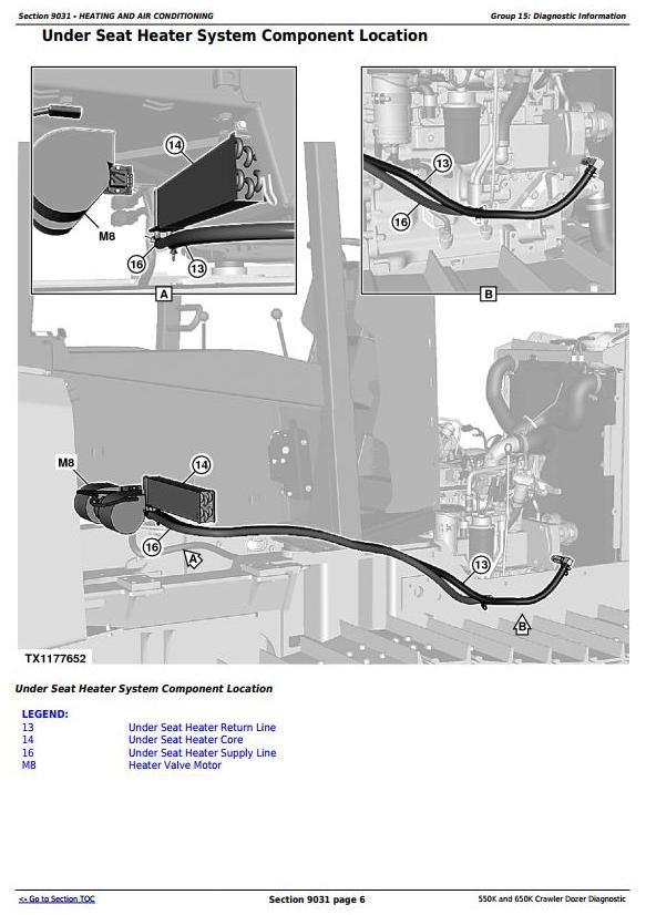 TM13356X19 - John Deere 550K, 650K Crawler Dozer (S.N.from 275977) Diagnostic and Test Service Manual - 3