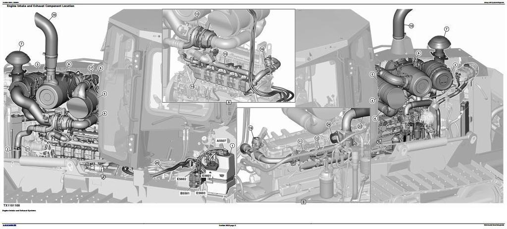 TM13358X19 - John Deere 700K Crawler Dozer (PIN:1T0700KX__F275598-) Diagnostic & Test Service Manual - 1