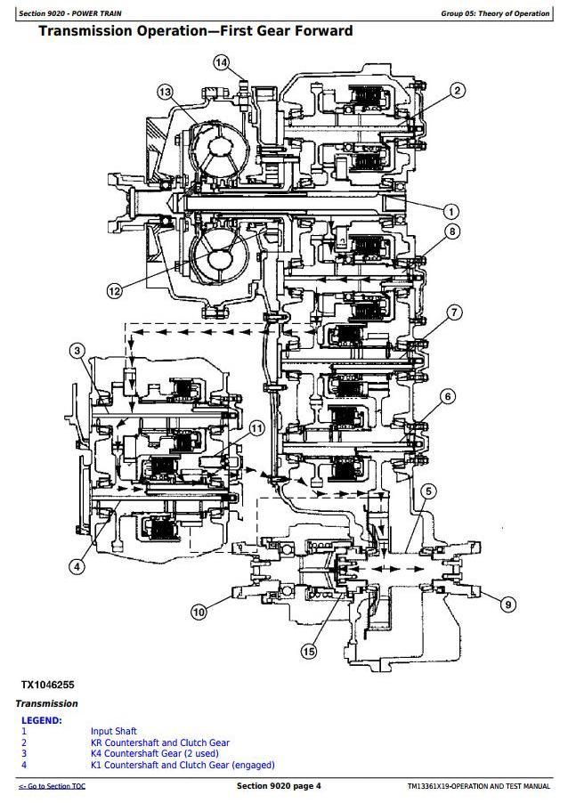 TM13361X19 - John Deere 444K 4WD Loader (SN.from F670308) Diagnostic, Operation & Test Service Manual - 1