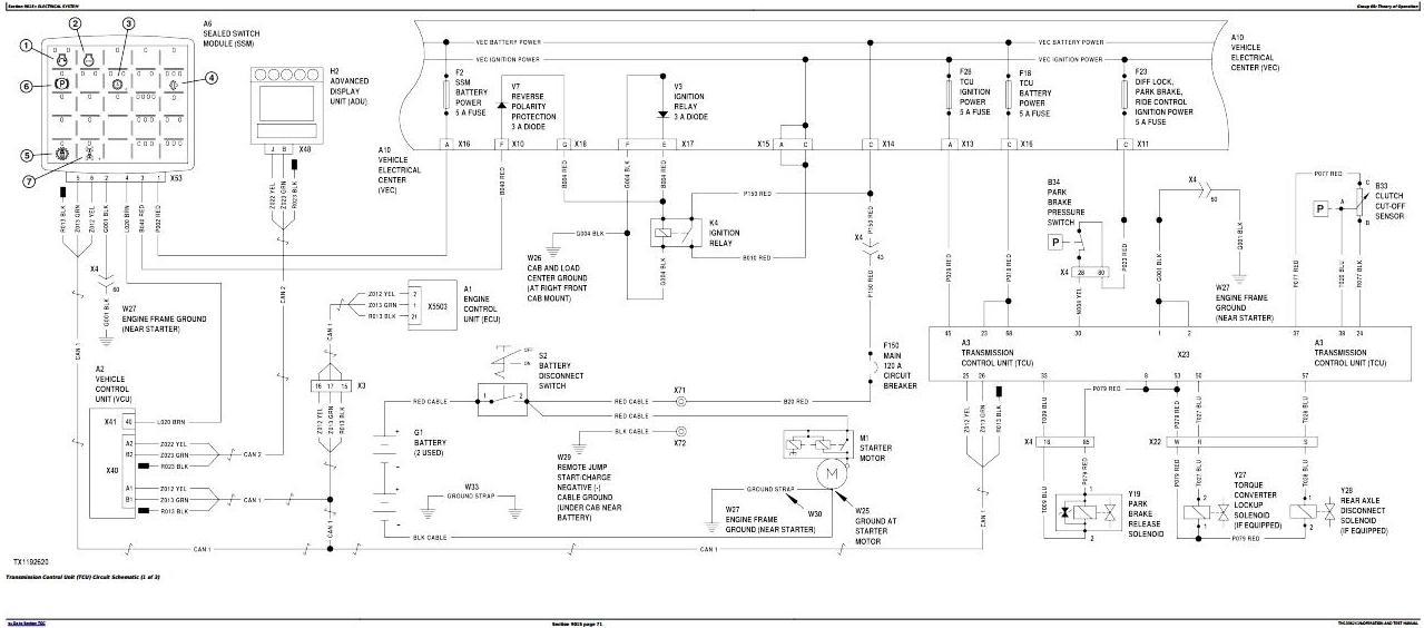 TM13362X19 - John Deere 524K 4WD Loader (SN.F670308-677548) Diagnostic and Test Service Manual - 2