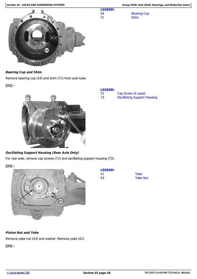 TM13367X19 - John Deere 444K 4WD Loader (SN. from F670308) Service Repair Technical Manual - 2