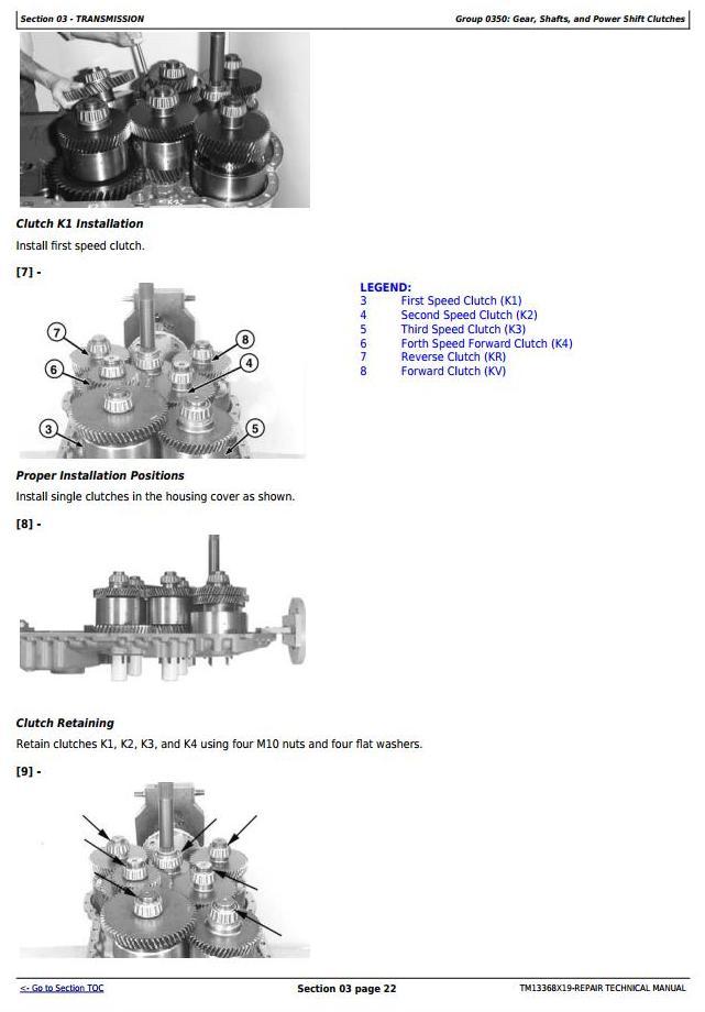 TM13368X19 - John Deere 524K 4WD Loader (SN. F670308-677548) Service Repair Technical Manual - 2
