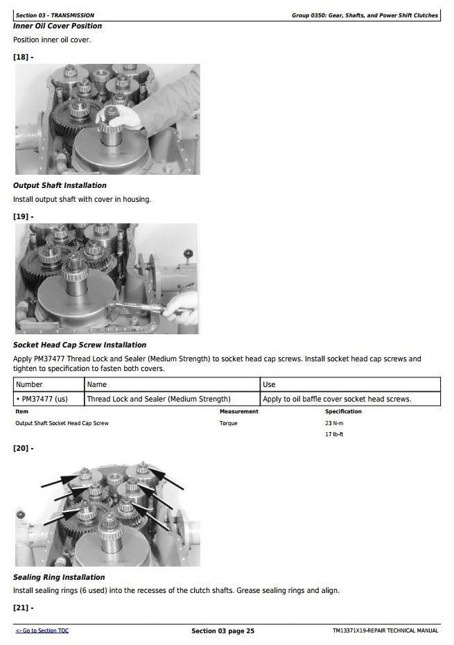 TM13371X19 - John Deere 524K 4WD Loader (SN. D670308-677548) Service Repair Technical Manual - 2