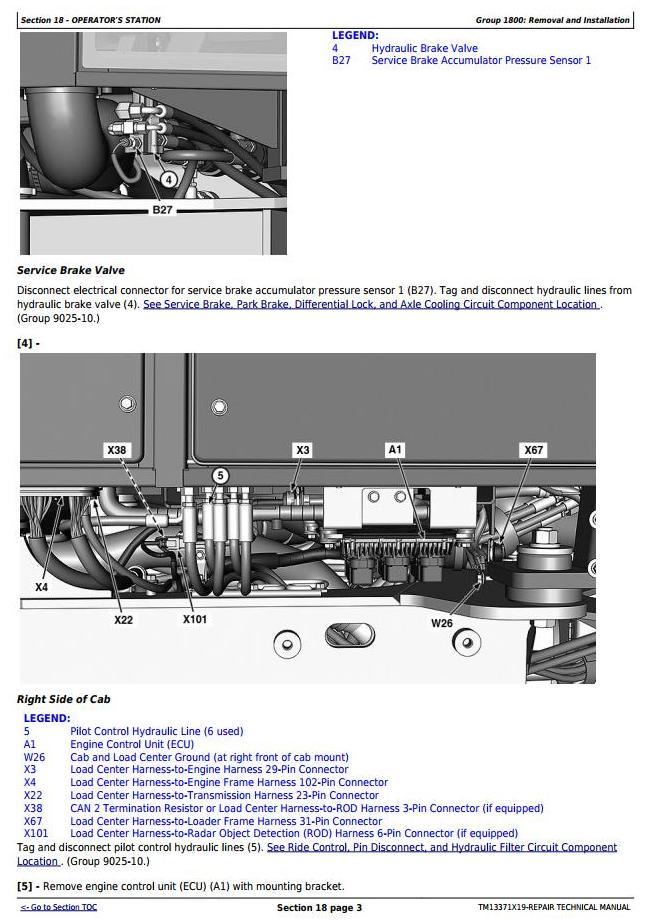TM13371X19 - John Deere 524K 4WD Loader (SN. D670308-677548) Service Repair Technical Manual - 3