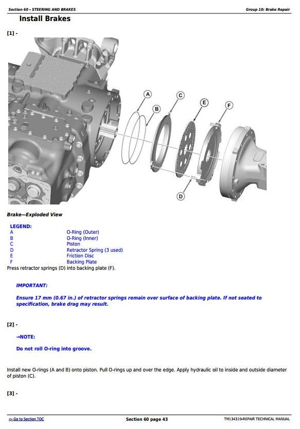 TM134319 - John Deere 5085M, 5100M, 5100MH, 5100ML, 5115M, 5115ML (FT4) Tractor Service Repair Manual - 1