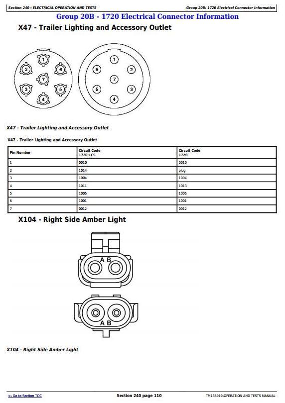 TM135919 - John Deere Integral Frame for 1700, 1710, 1720, 1730, 1750, 1780 Planters Diagnostic Manual - 1