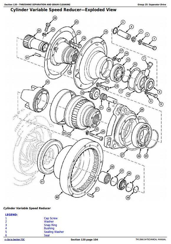 TM136619 - John Deere C240 (4LZ-13) Full-Feeding Combine Diagnostic and Repair Technical Manual - 2