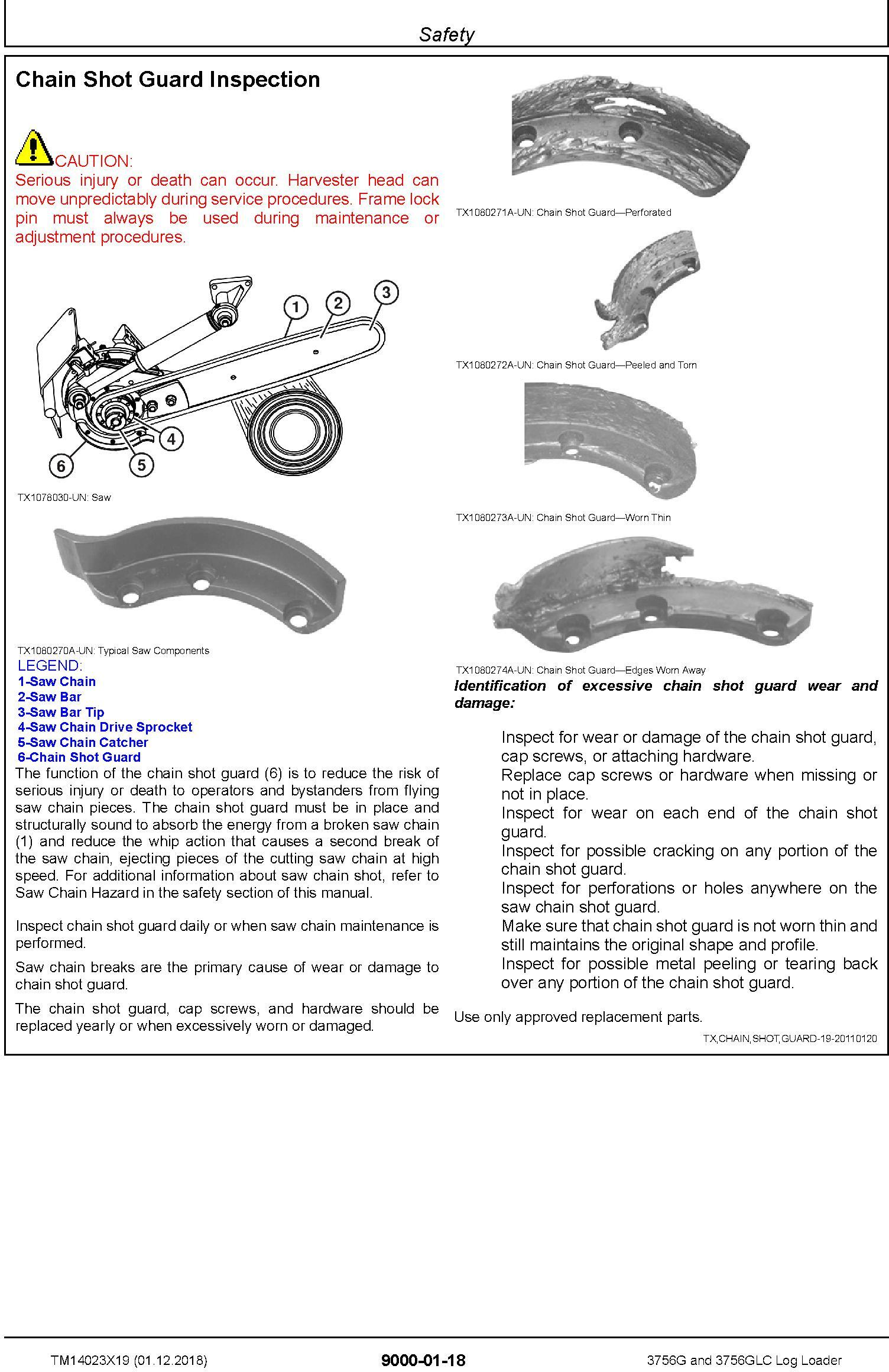 John Deere 3756G, 3756GLC (SN. F376001-) Log Loader Operation & Test Technical Manual (TM14023X19) - 1