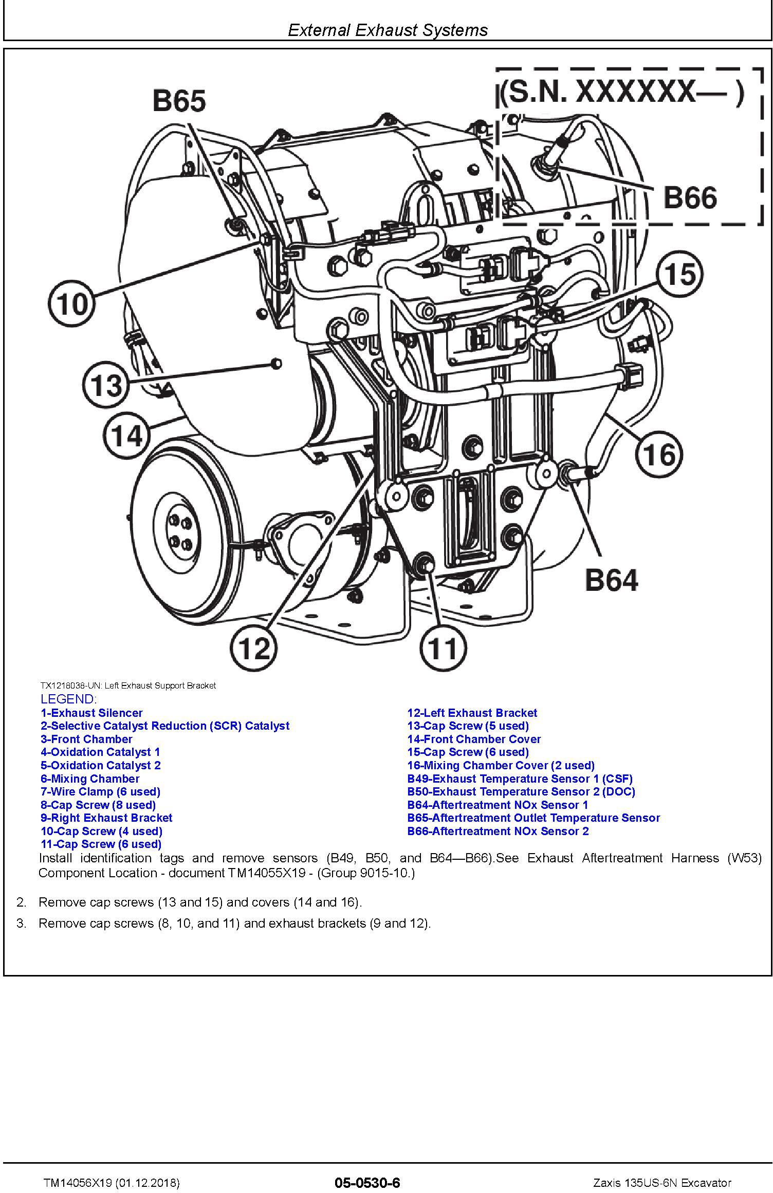 Hitachi Zaxis 135US-6N Excavator Service Repair Technical Manual (TM14056X19) - 3