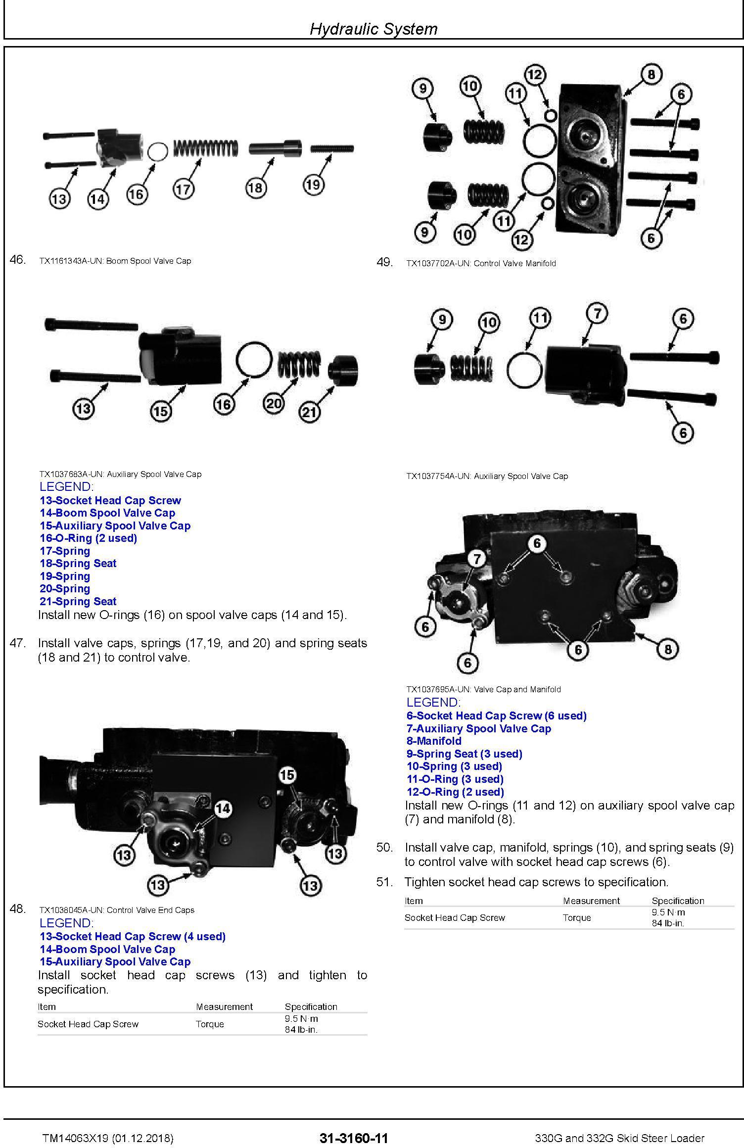 John Deere 330G and 332G Skid Steer Loader Repair Service Manual (TM14063X19) - 2