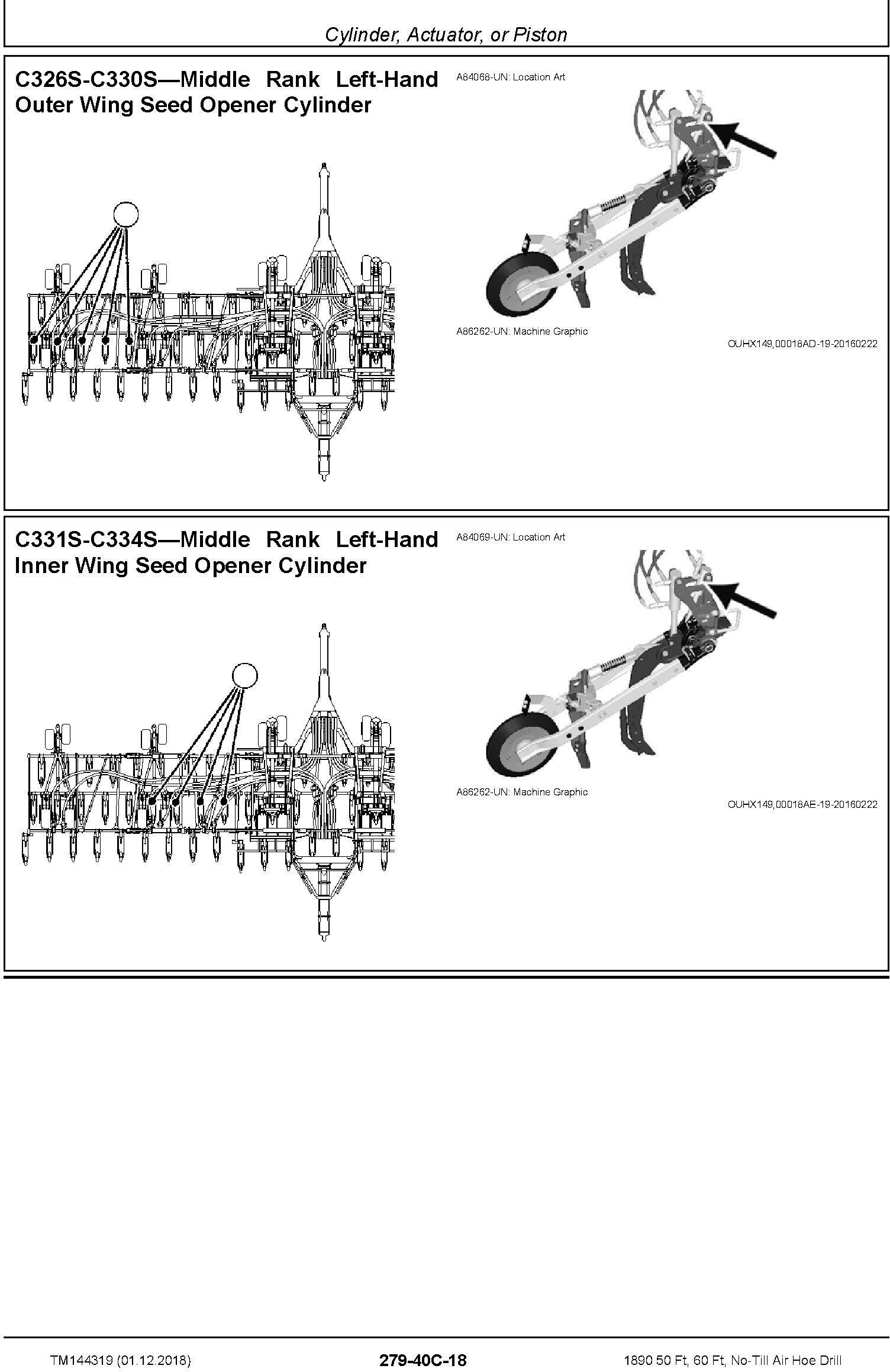 John Deere 1890 50 Ft, 60 Ft, No-Till Air Hoe Drill Diagnostic Technical Service Manual (TM144319) - 3