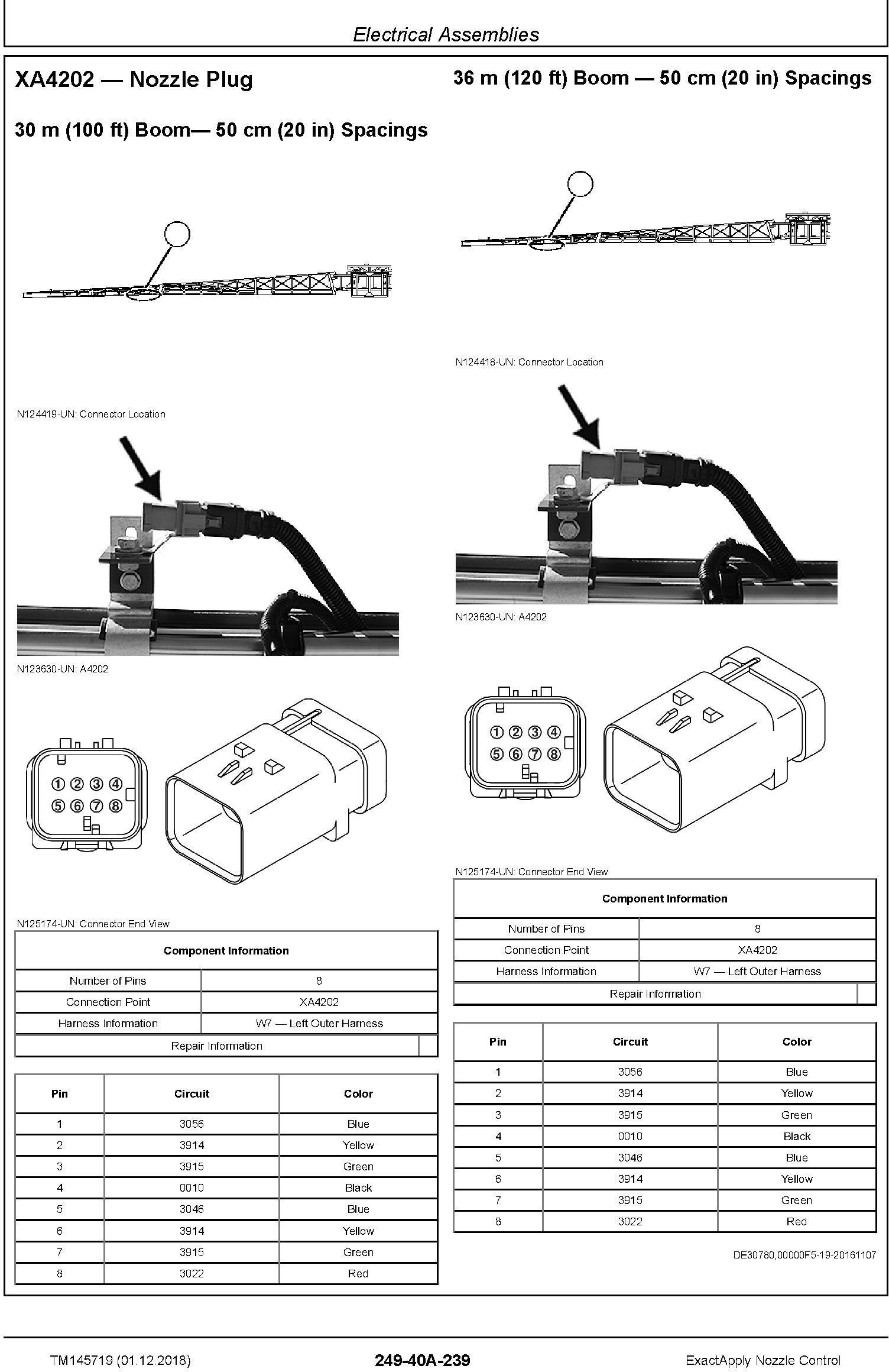 John Deere ExactApply Nozzle Control Diagnostic Technical Manual (TM145719) - 2