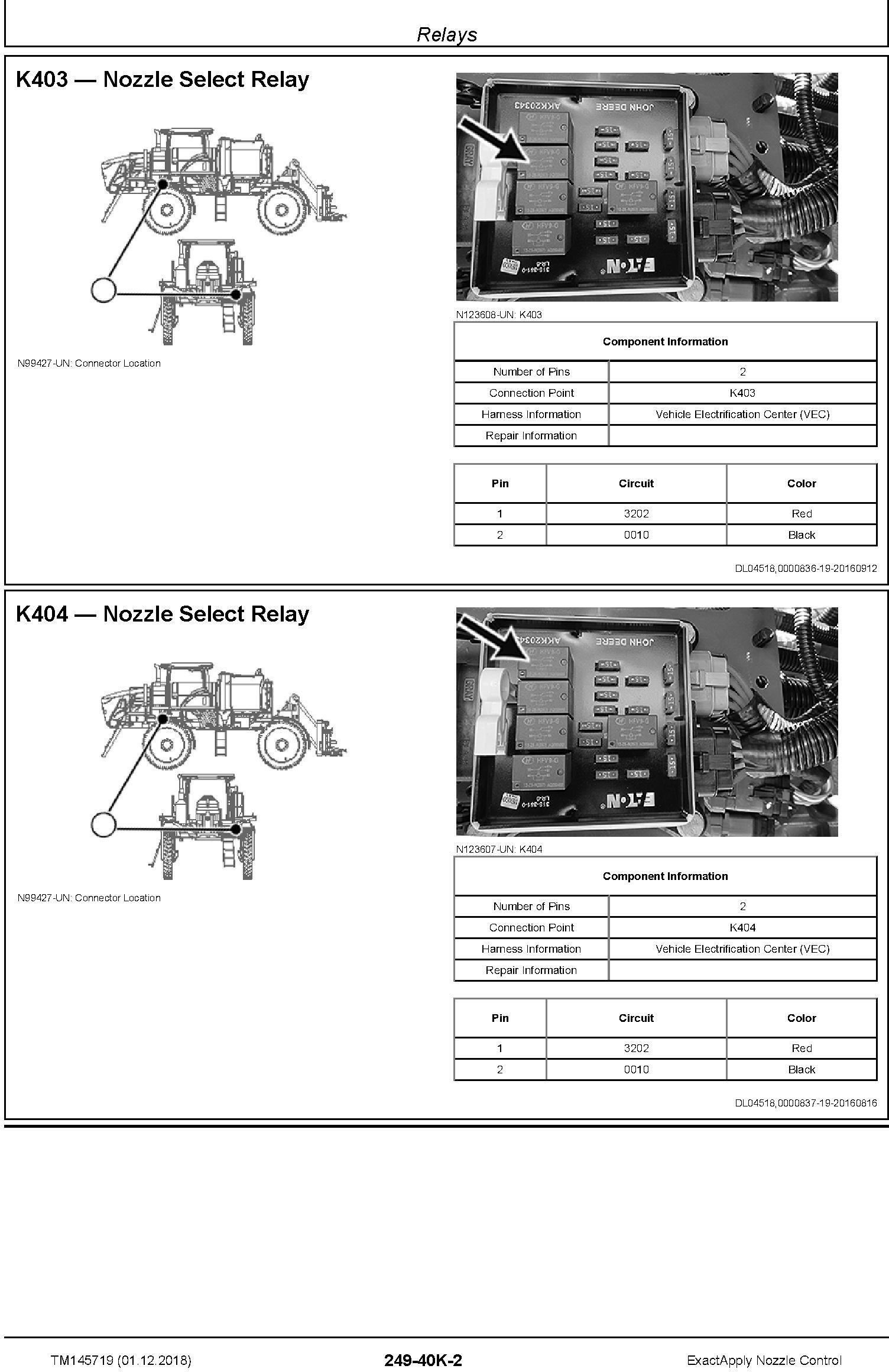 John Deere ExactApply Nozzle Control Diagnostic Technical Manual (TM145719) - 3