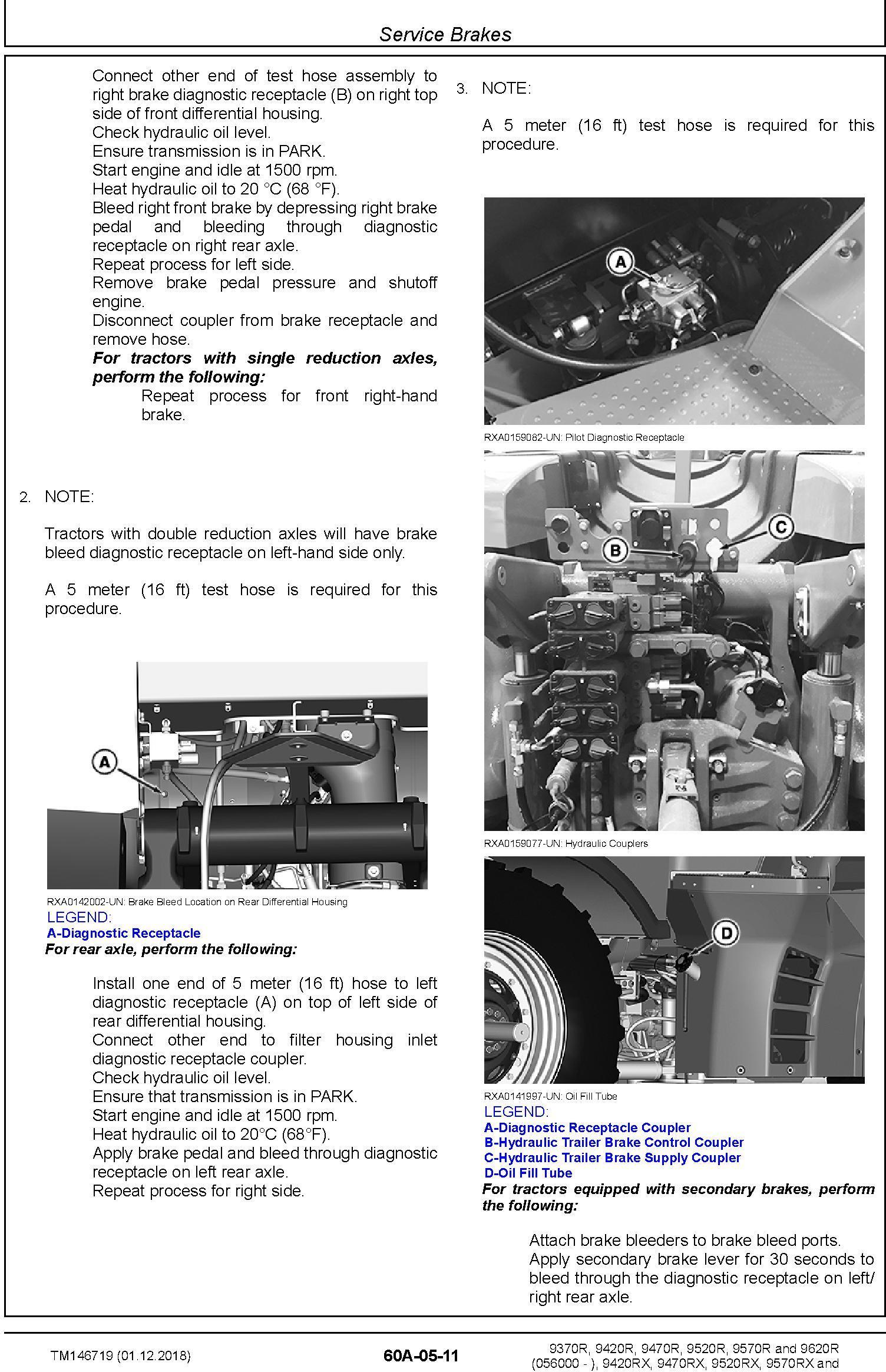John Deere 9370R 9420R/RX 9470R/RX 9520R/RX 9570R/RX 9620R/RX Tractors Repair Manual (TM146719) - 3