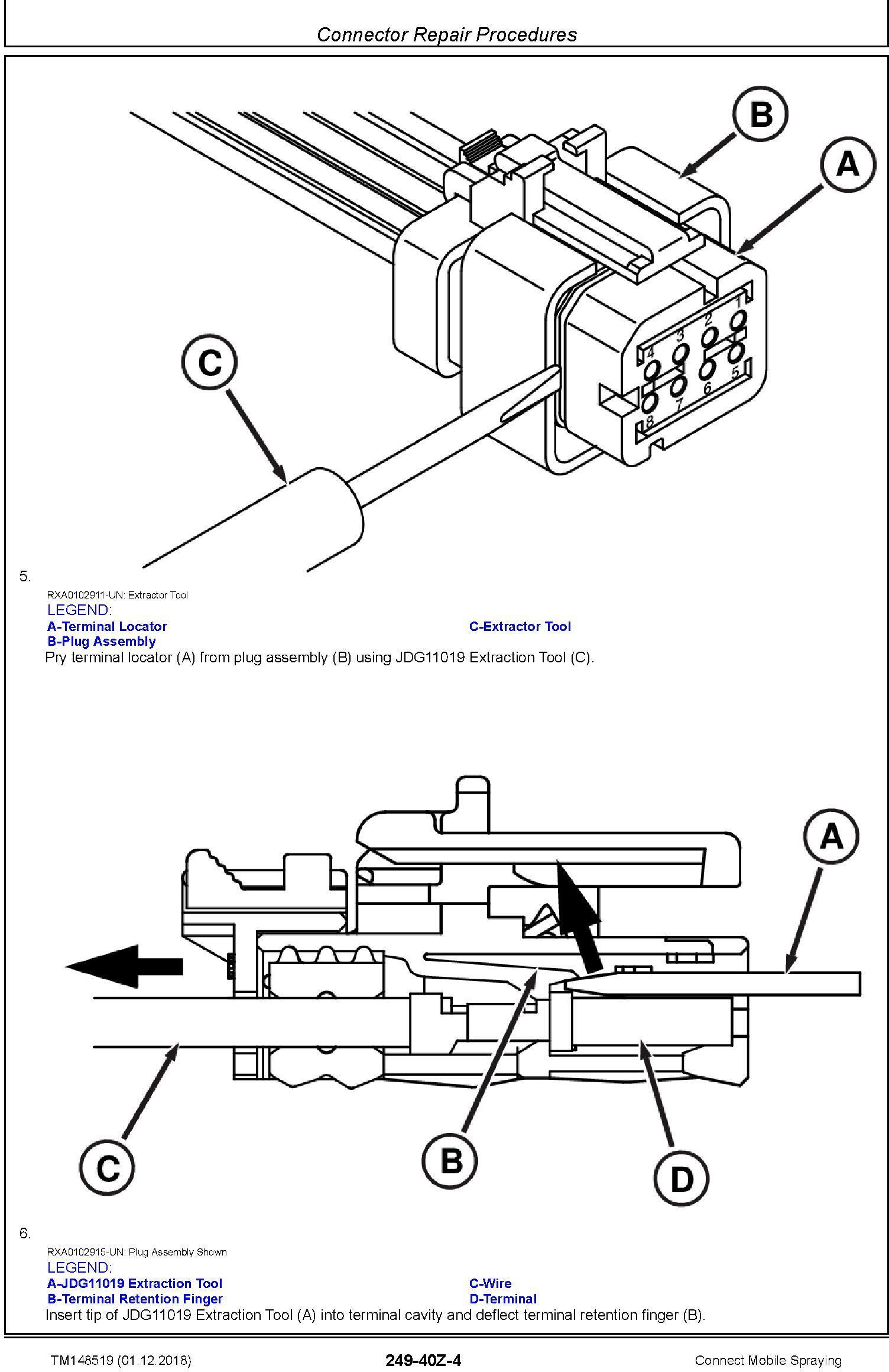 John Deere Connect Mobile Spraying Repair Technical Service Manual (TM148519) - 3