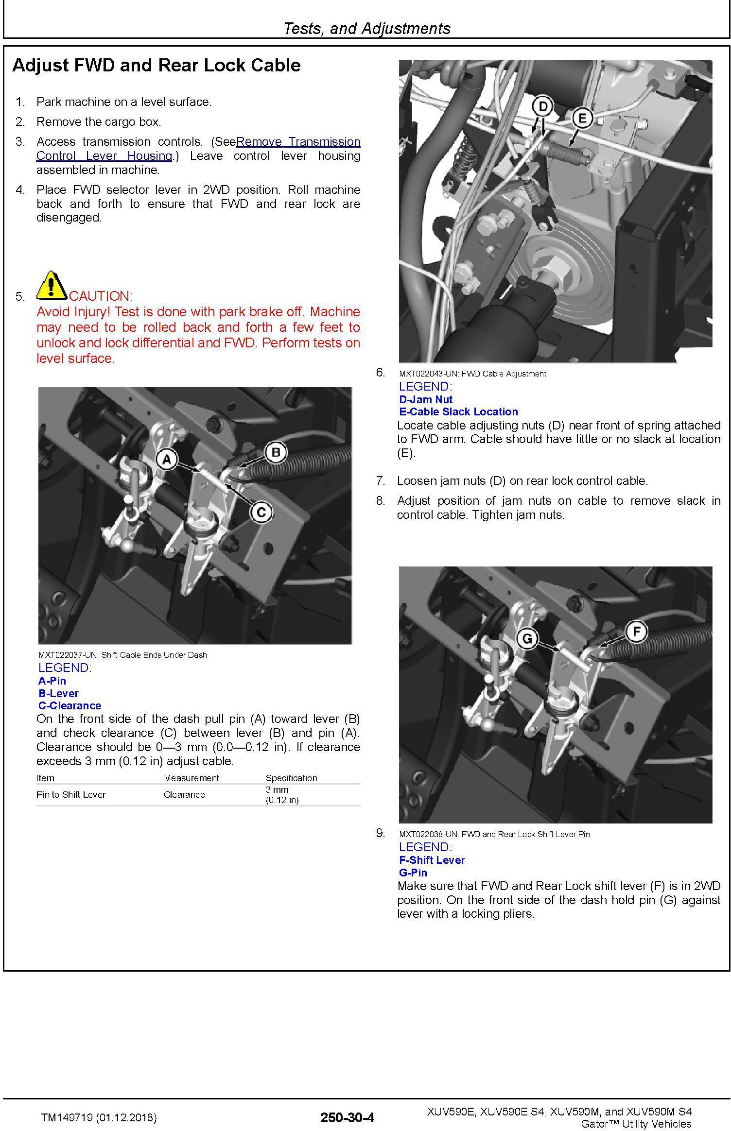John Deere XUV590E(S4), XUV590E(S4) Gator Utility Vehicles (SN. 010001-) Technical Manual (TM149719) - 3