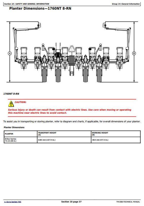 TM1583 - John Deere 1760, 1760NT, 1770 Drawn Planters Diagnostic and Repair Technical Manual - 3