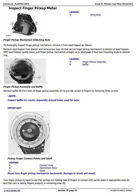 TM1583 - John Deere 1760, 1760NT, 1770 Drawn Planters Diagnostic and Repair Technical Manual - 1