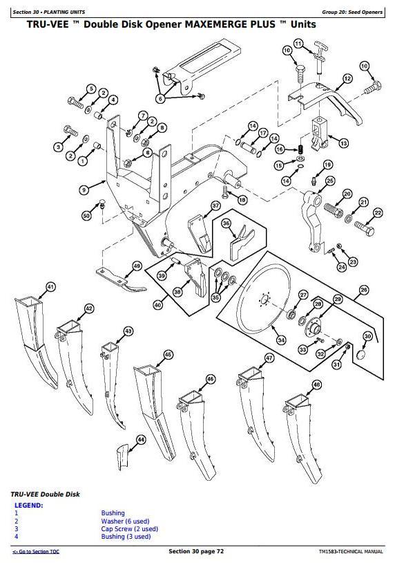 TM1583 - John Deere 1760, 1760NT, 1770 Drawn Planters Diagnostic and Repair Technical Manual - 2